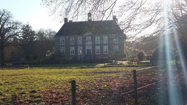 Wandelen over het Westerborkpad bij Huis Molecaten