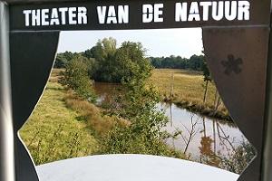Theater van de Natuur in Sellingen tijdens een wandeling over het Westerwoldepad in Groningen