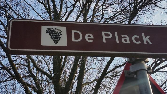 De Plack tijdens wijnwandeling van Wanda Catsman in Groesbeek