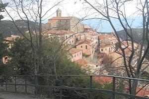 Marciana tijdens wandelreis naar Italiaans eiland Elba