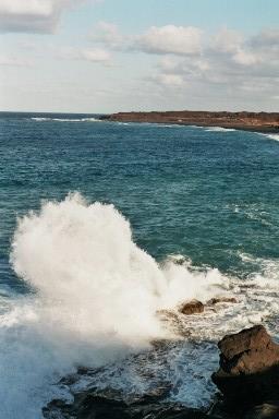 Zuidkust Lanzarote tijdens een wandelvakantie op Canarisch Eiland Lanzarote