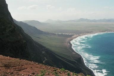 Kuststrook op wandeling bij Haria tijdens een wandelvakantie op Canarisch Eiland Lanzarote