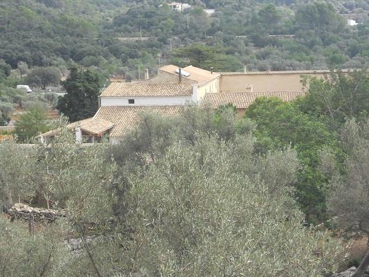 Finca bij Bunyola op wandelvakantie in Tramuntanagebergte op Spaans eiland Mallorca