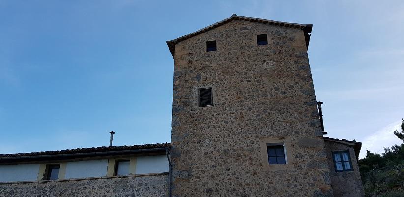 Finca bij Port de Soller op wandelvakantie in Tramuntanagebergte op Spaans eiland Mallorca