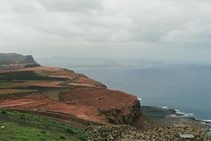 Noordkust Lanzarote tijdens wandelreis naar Canarisch Eiland Lanzarote