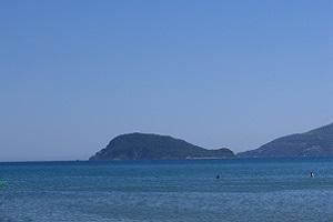 Baai van Kalamaki op wandelvakantie op Grieks eiland Zakynthos