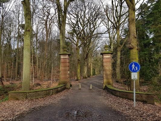 Landgoede De Wielewaal eens van Frits Philips tijdens een wandeling over het Philipspad van Gegarandeerd Onregelmatig in Eindhoven