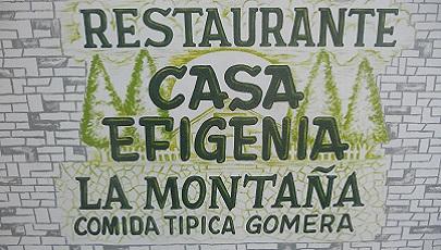 Casa Efigenia in Las Hayas op Canarisch eiland La Gomera