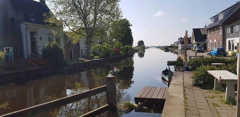 Wandelen over het Romeinse Limespad van Driebruggen naar Woerden bij de Dubbele Wiericke
