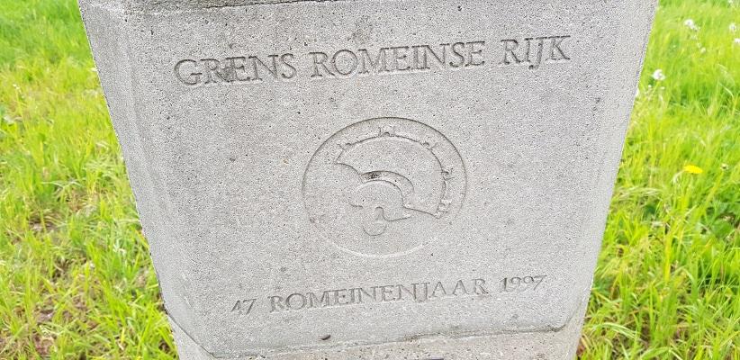 Wandelen van Harmelen naar Woerden over het Romeinse Limespad bij grens Romeinse Rijk