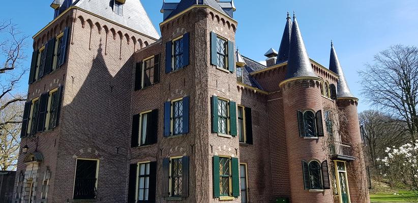 Wandelen over trage tocht Lisse bij kasteel de Haar
