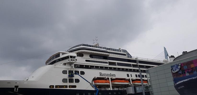 NS-wandeling Rotterdam Maasstad bij de Holland Americalijn