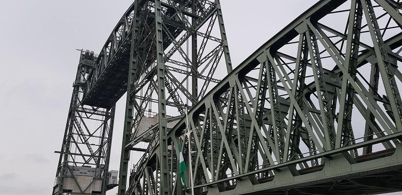 NS-wandeling Rotterdam Maasstad bij de hefbrug