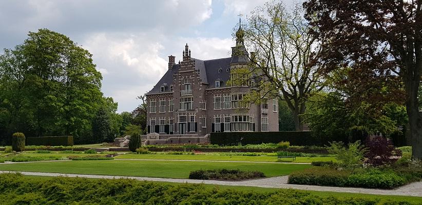 Wandeling van Gegarandeerd Onregelmatig over het Parkstadpad van Wandelen buiten de binnenstad van EIndhoven bij het Glorieux-park