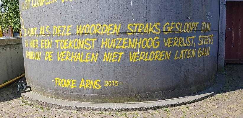 Wandeling buiten de binnenstad van Nijmegen over het Weurtpad bij Honig-fabriek
