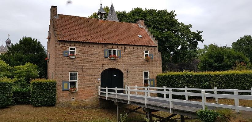 Bolle akkerroute Laarbeek bij kasteel Croy