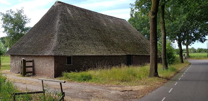 Bolle akkerroute Laarbeek biji oude veldschuur