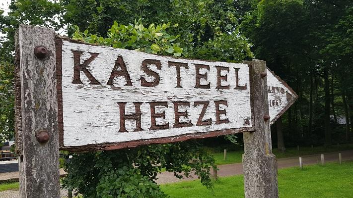 Wandeling van Heeze naar Maarheeze bij kasteel Heeze