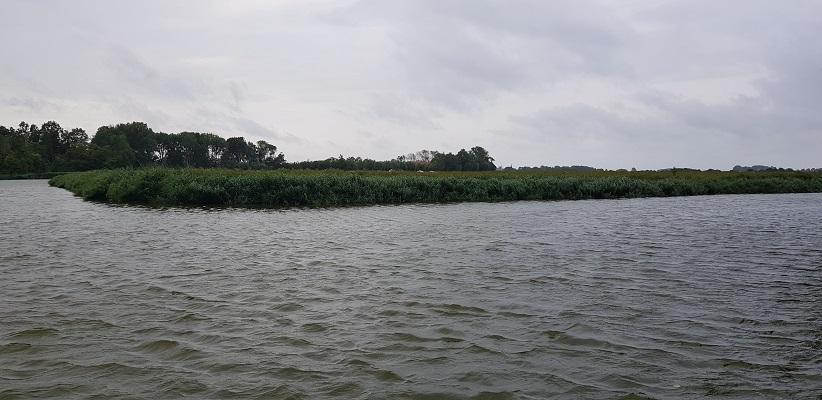 Wandeling rond het Veerse Meer over het Nederlands Kustpad bij de kreken bij Veere