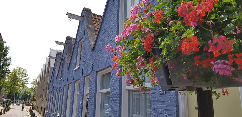 Wandeling door de binnenstad van Amsterdam in Oud-West bij de Slatuinenweg