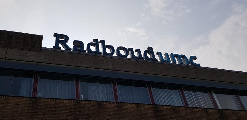 Wandeling buiten de binnenstad van Nijmegen van Gegarandeerd Onregelmatig over het Goffertpad bij het Radboudziekenhuis