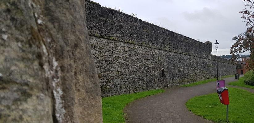 Wandelling door Londonderry Noord-Ierland