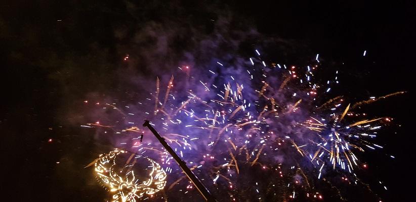 Avondwandeling Londonderry 15 augustus-viering