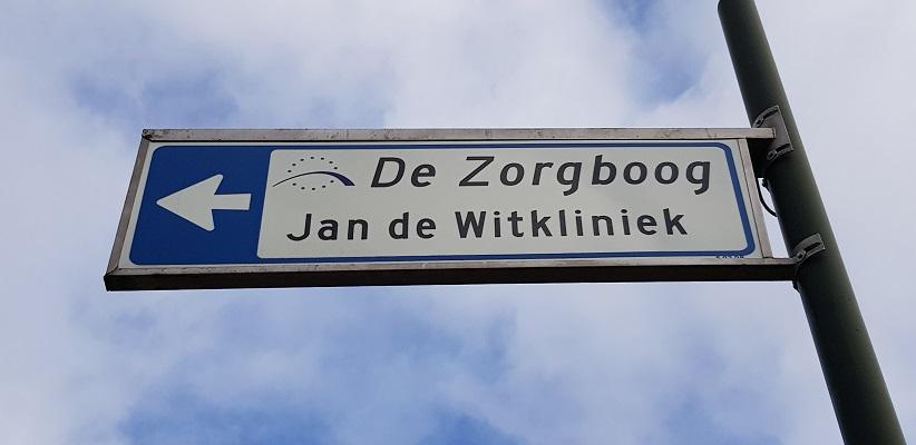 De Zorgboog Jan de Witkliniek tijdens wandeling Heemkundekring Bakel