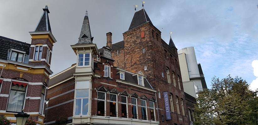 Wandeling door historisch Utrecht van de gids Utrecht acht keer anders van gegarandeerd onregelmatig bij de Stadskastelen