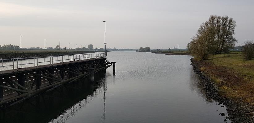Wandeling over Klompenpad het Dorenweertsepad langs de Rijn