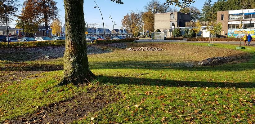 Wandeling in Deurne over het Tuinpad van mijn vader bij het station