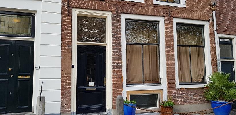 Wandeling uit gids Utrecht acht keer anders langs markante Utrechters bij het geboortehuis van Rijk de Gooyer
