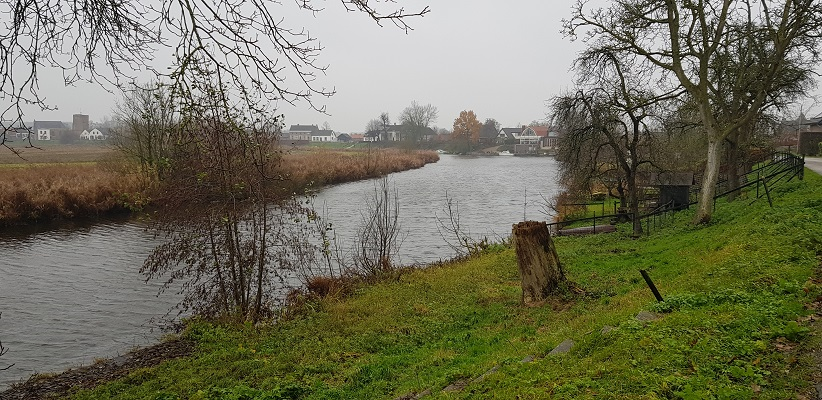 Wandeling over Klompenpad Rhenoijsepad langs de Linge