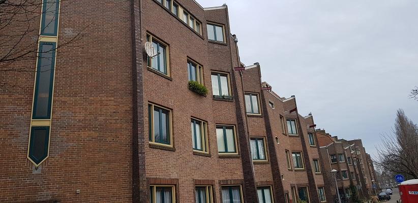 Wandeling ten westen van de Amstel in Amsterdam