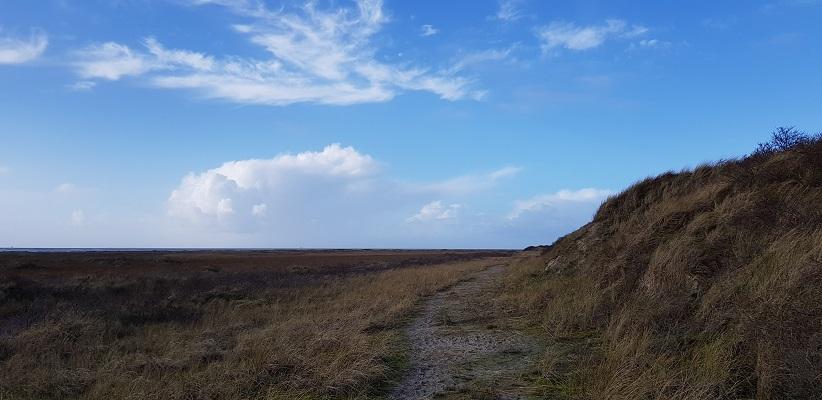 Wandeling rond de Westerplas op Schiermonnikoog