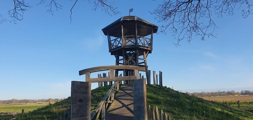 Wandeling over ommetje kasteel Heeswijk