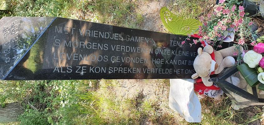 Trage Tocht Brunssummerheide bij herinneringsmonument van Nicky Verstappen