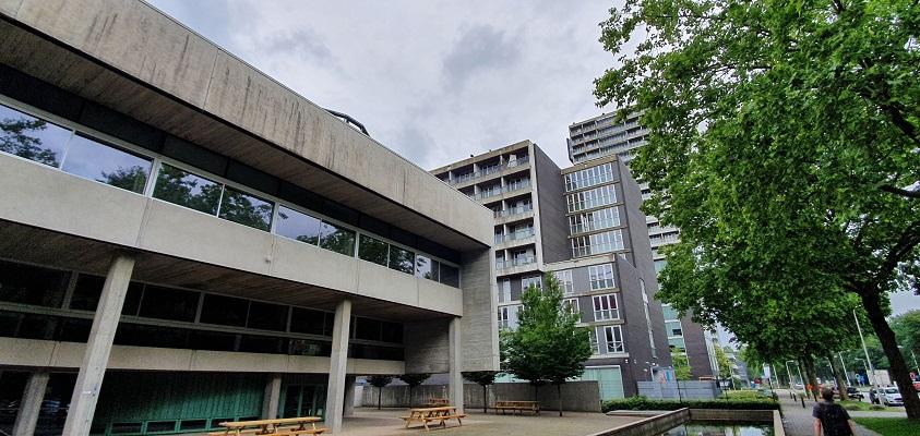 Wandeling over Trage Tocht Tilburg bij Universiteit van Tilburg