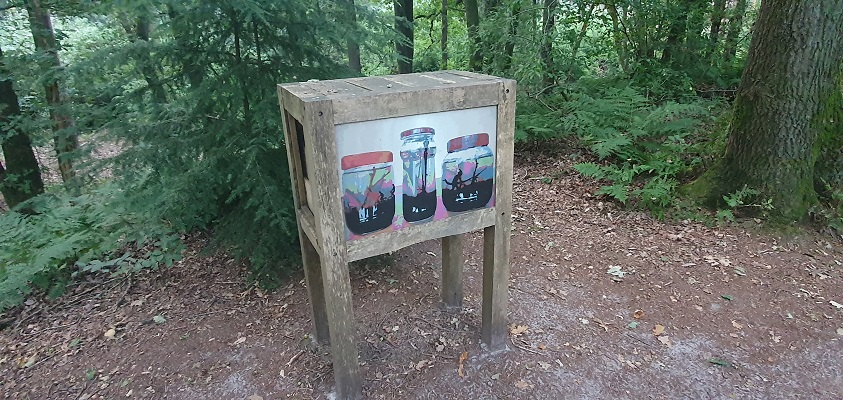 Wandeling over Andreas Schotel wandelroute in Esbeek 'Op sterk water'