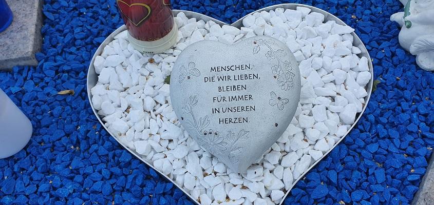 Wandeling op Hauptfriedhof Gelsenkirchen-Buer in Gelsenkirchen