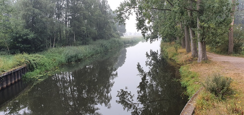 Wandeling van Vught naar Den Bosch van de Paadjesmakers bij de Essche Stroom