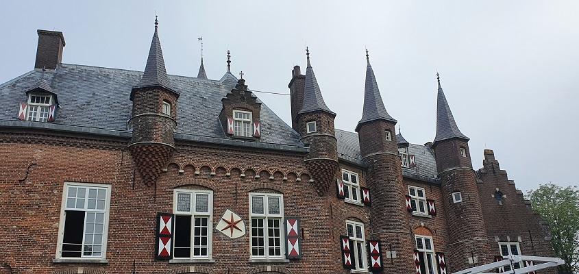 Wandeling van Vught naar Den Bosch van de Paadjesmakers bij kasteel Maurick
