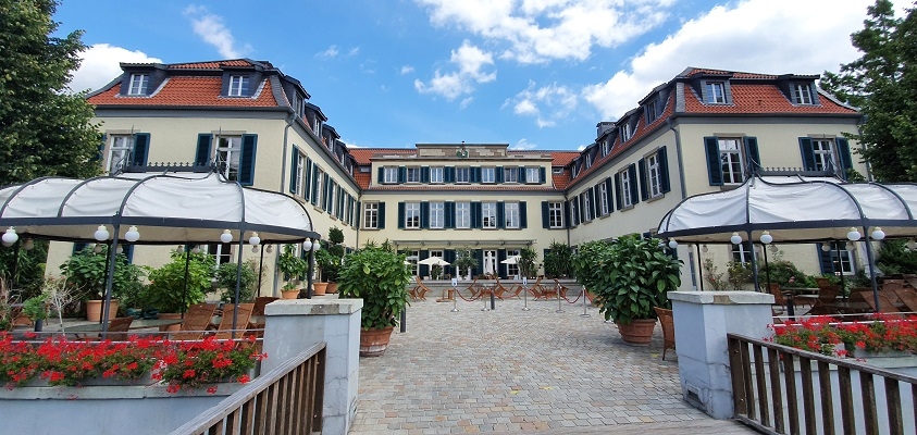 Wandeling rond Schloss Berge in Gelsenkirchen