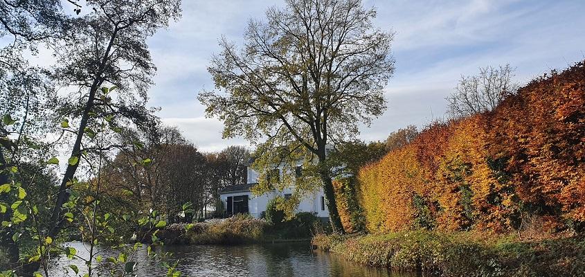 Wandeling over Stadse Trage Tocht Zutphen bij Huis ten Dam