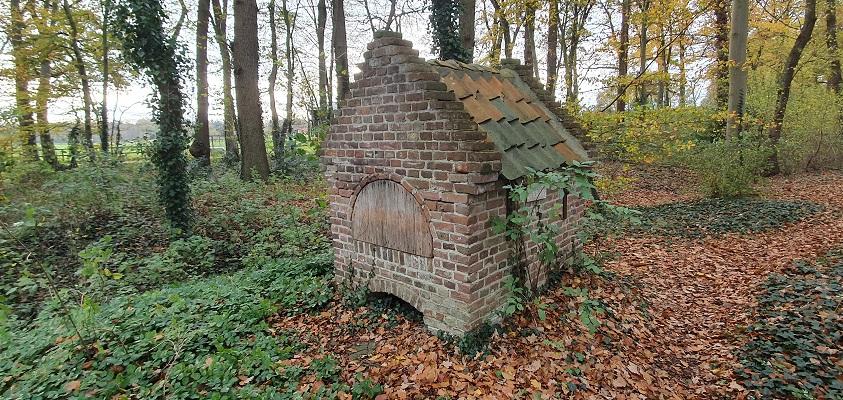 Wandeling over Stadse Trage Tocht Zutphen bij oud bakhuisjes