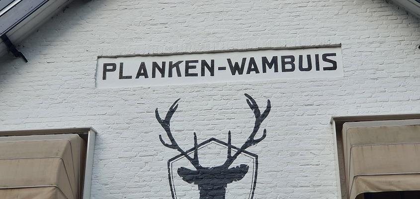 Wandeling over Trage Tocht Planken Wambuis