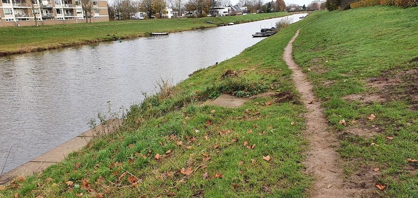 Wandeling meanderen langs de Aa in de omgeving van den Bosch bij de Aa