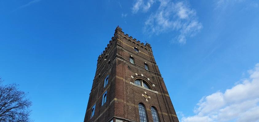 Wandeling meanderen langs de Aa in de omgeving van den Bosch bij de Watertoren