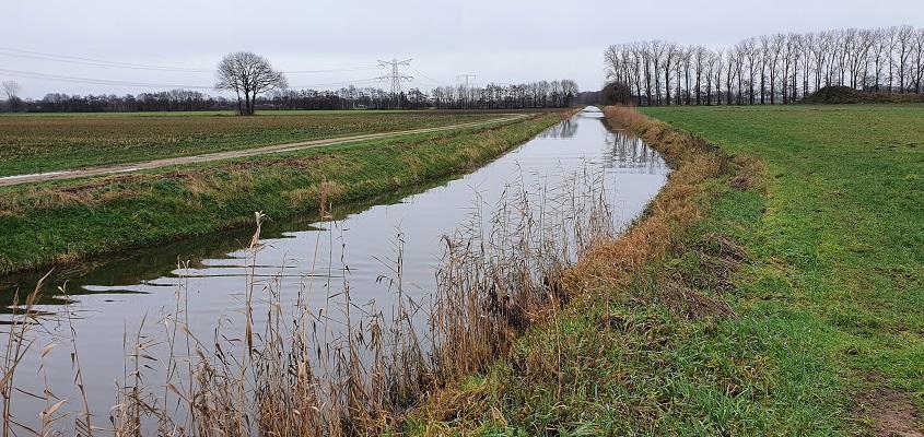Wandeling over ommetje Sint Hubert bij de Lage Raam