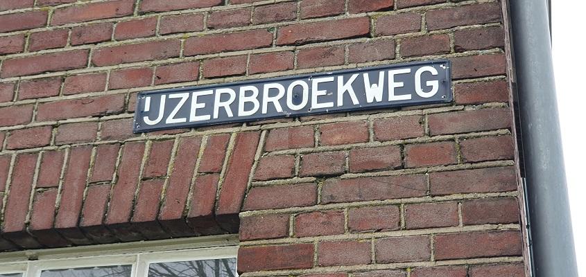 Wandeling over ommetje Sint Hubert bij de IJzerbroekweg